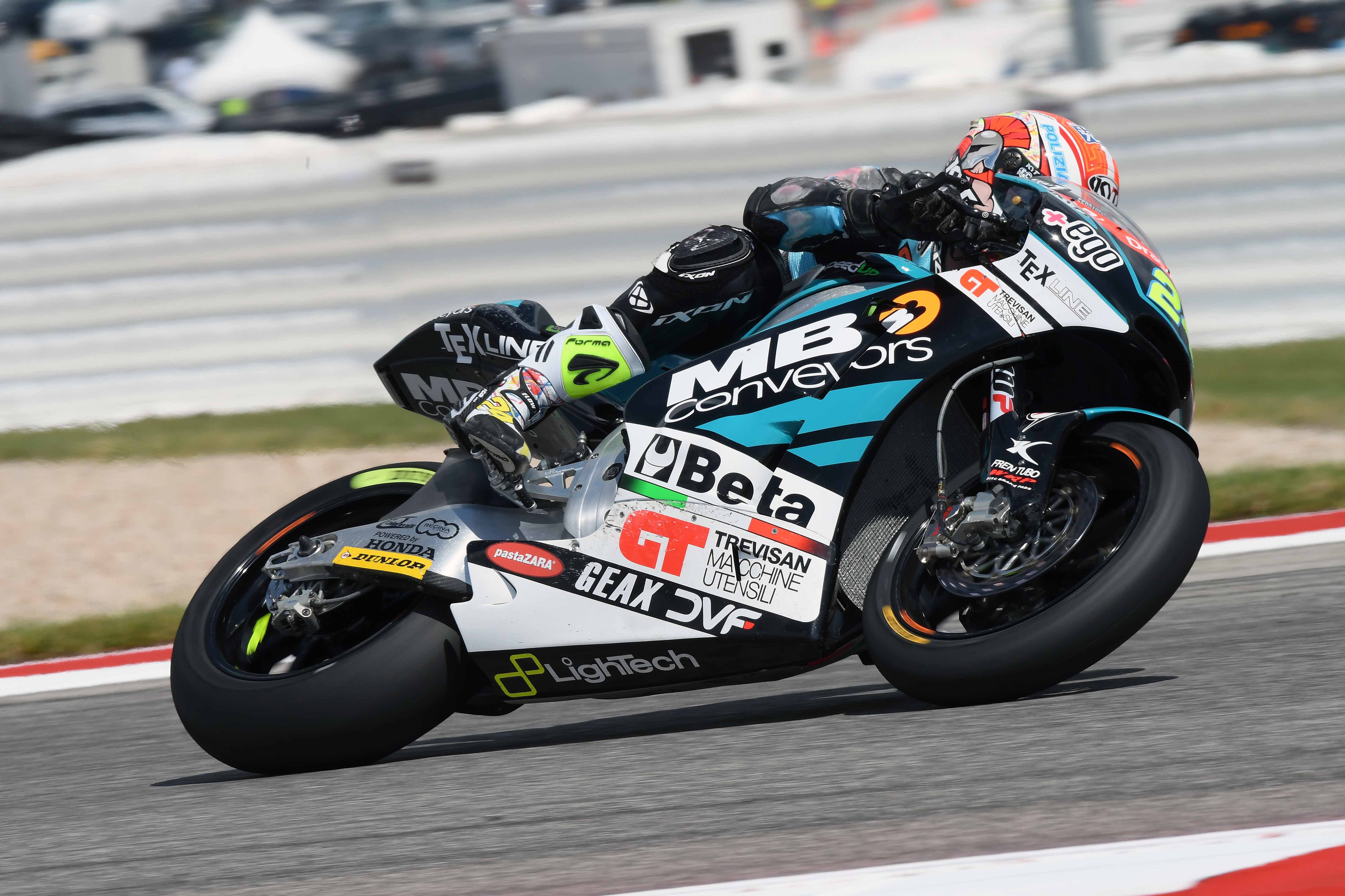 SESTA E UNDICESIMA FILA PER I PILOTI DI SPEED UP TEAM NEL GP OF THE AMERICAS AD AUSTIN