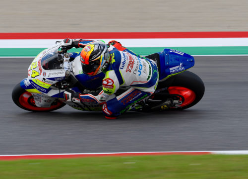 ed il 10° di Simone Corsi (Tasca Racing Scuderia Moto2)