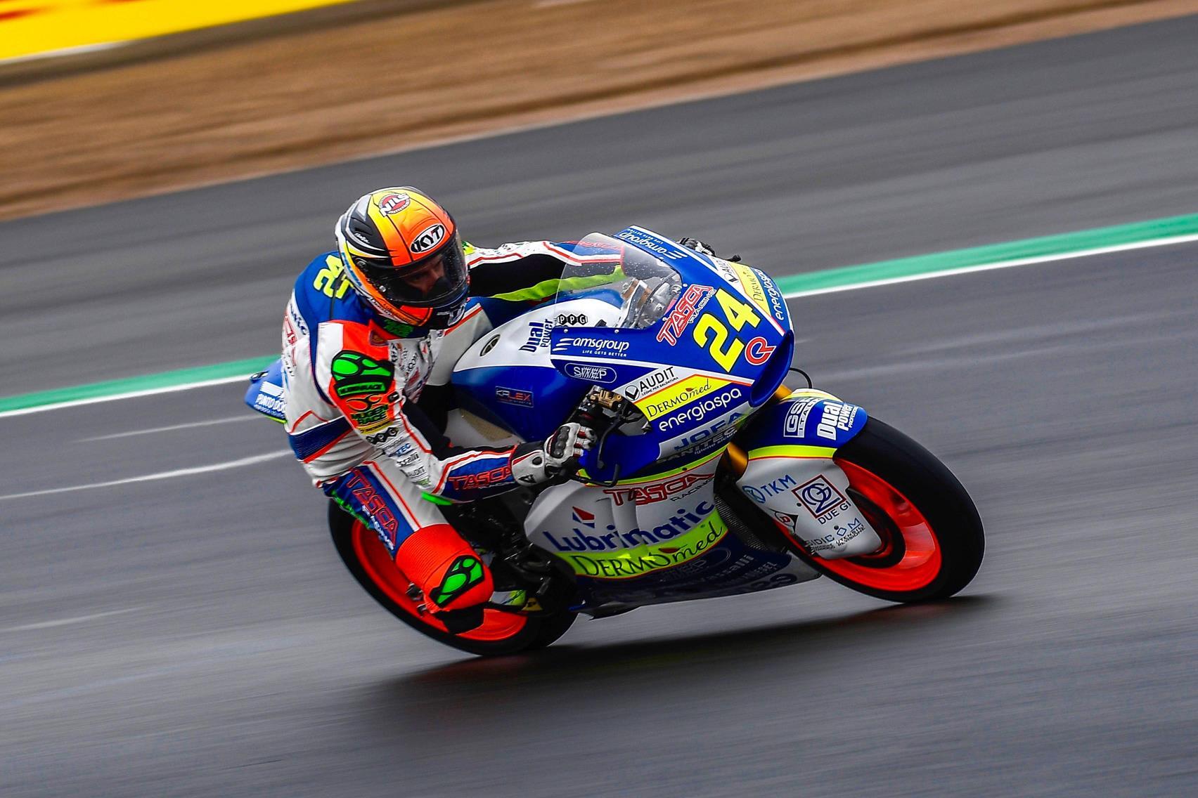 MOTO 2 MotoGp Thailandia 2018 – Simone Corsi