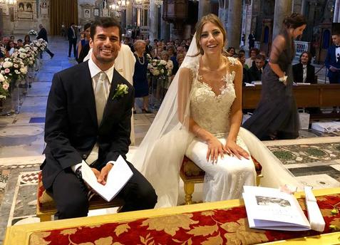 La moglie di Simone Corsi e Clarissa Cimini